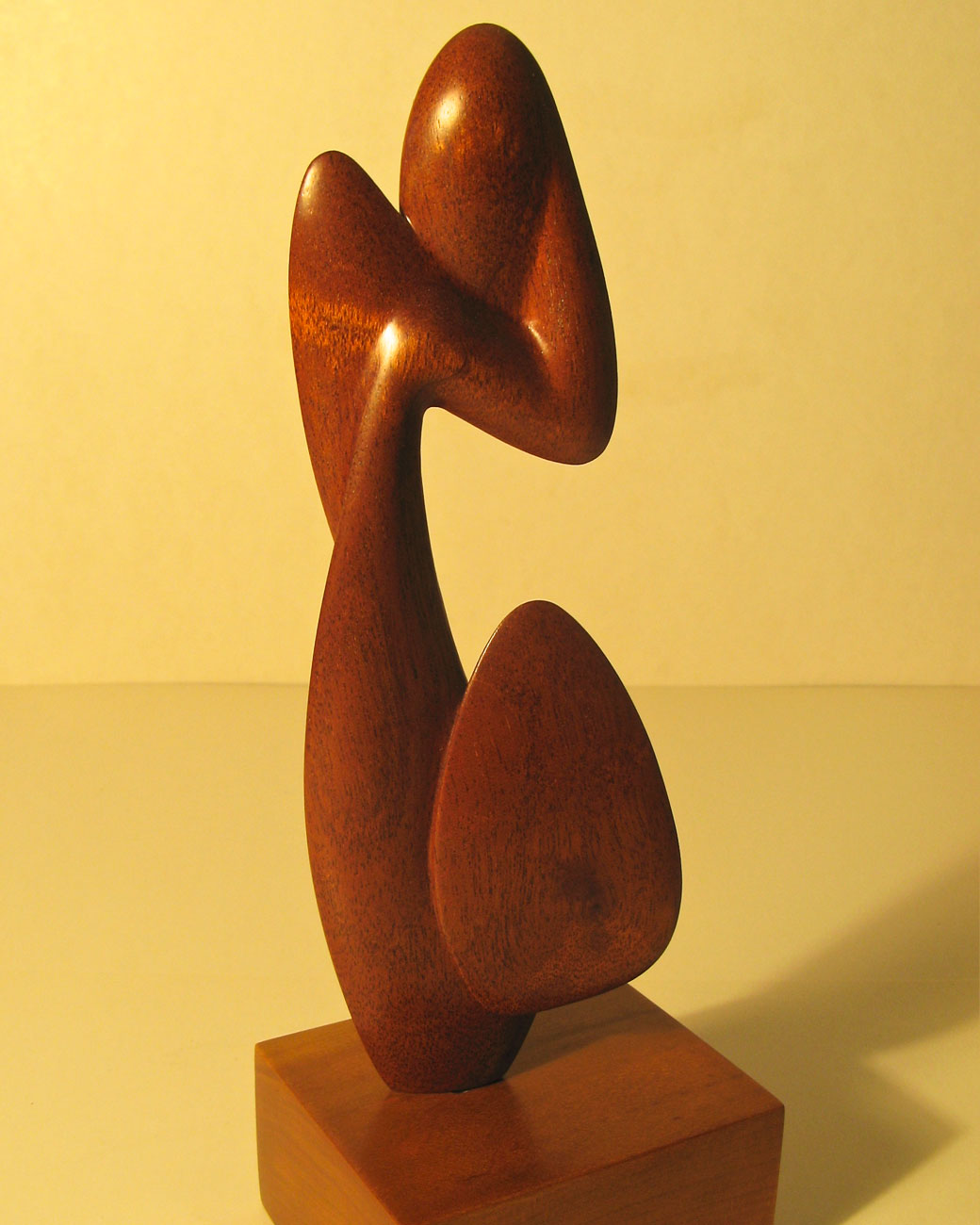 Contemplative Spirit - Wood Carving