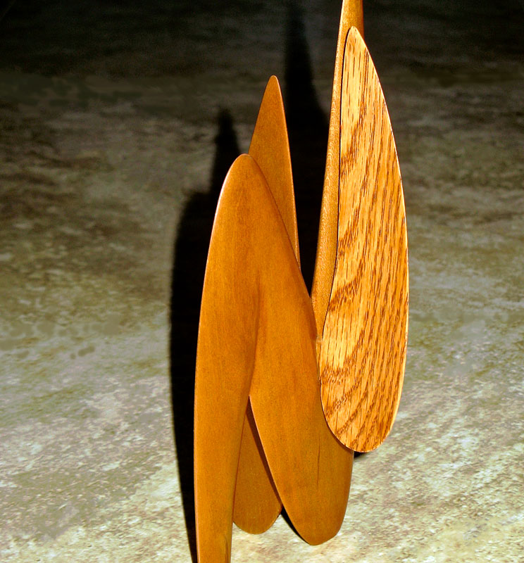 Stabile wood carving