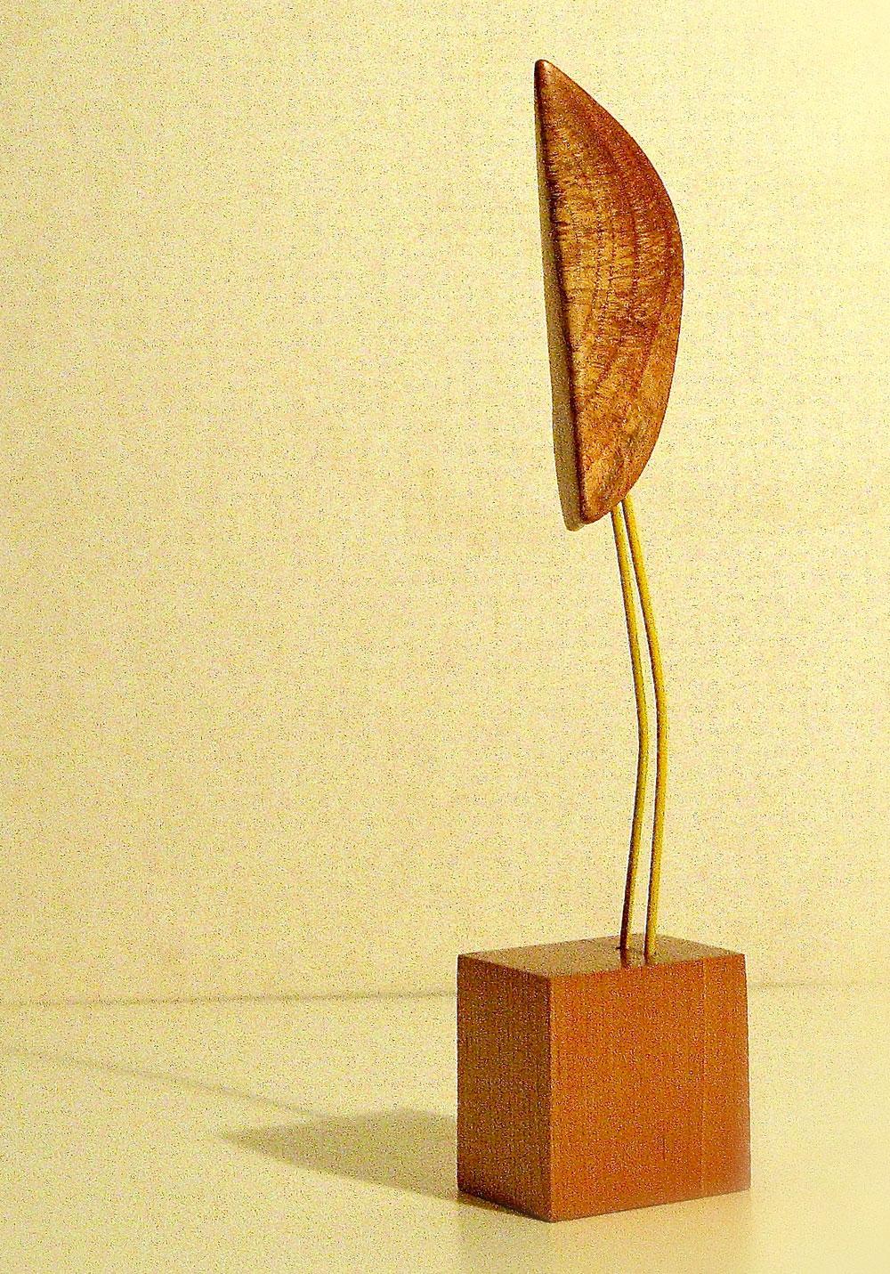 Knot Bird woodcarving sculpture