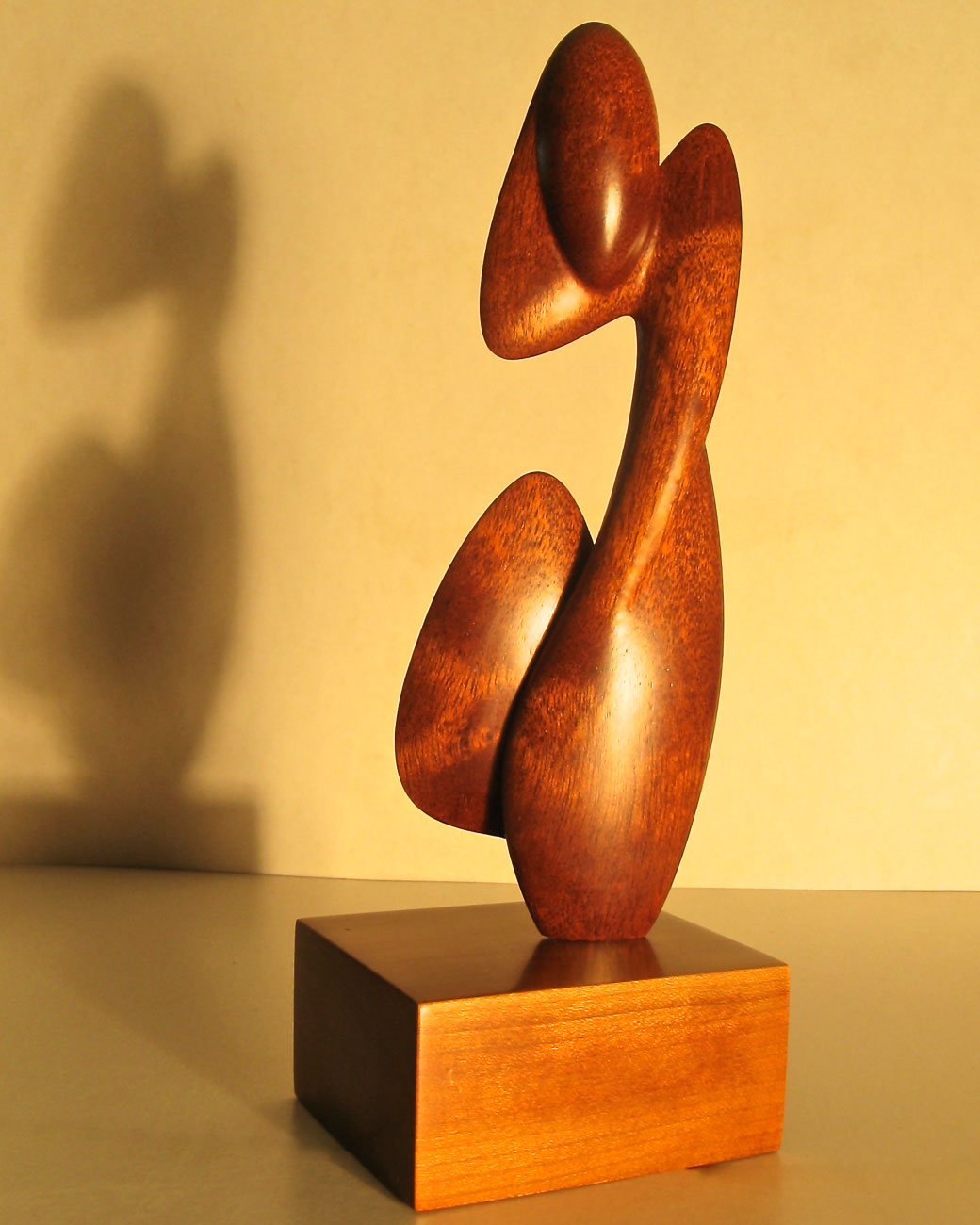 Contemplative Spirit - Wood Carving