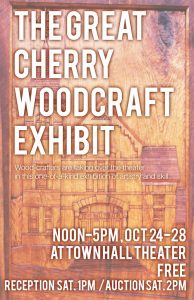 the great cherry woodcraft exhibit